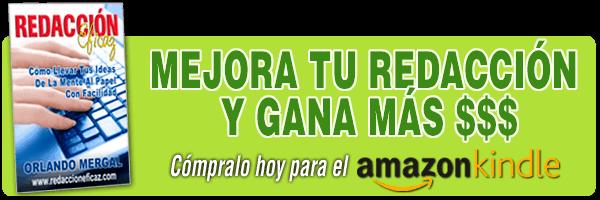 Banner del libro Redacción Eficaz