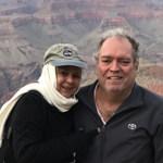 Orlando y Zory Mergal de viaje por los Estados Unidos